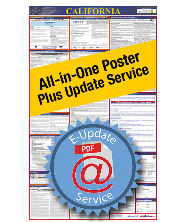 All-In-One Labor Law Poster with E-Update Service