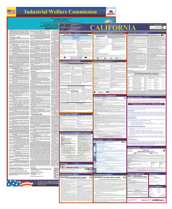 California Labor Law Posters